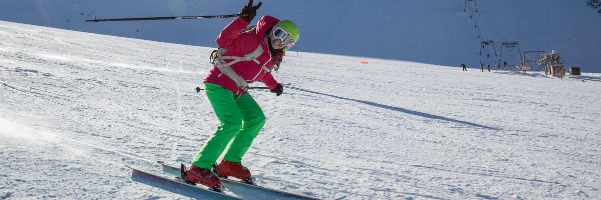 Damen-Skikurs für Anfängerinnen und zum Verbessern der Technik